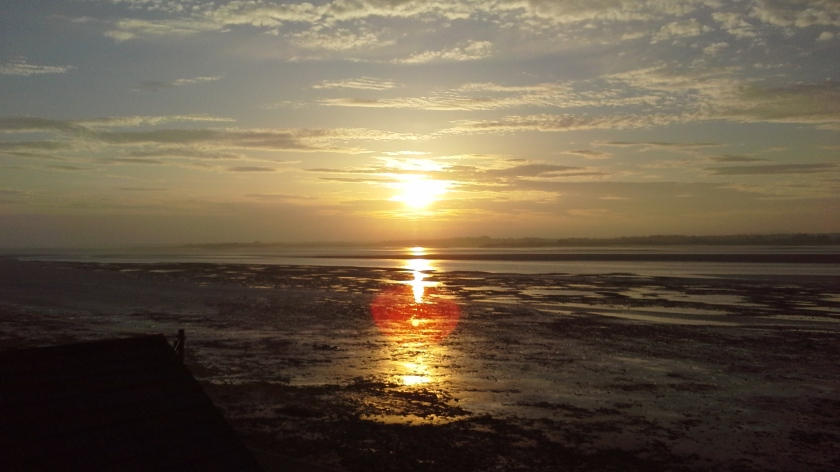 Sunset over the Solway Firth