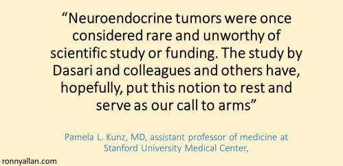 Kunz Neuroendocrine tumors were once considered rare