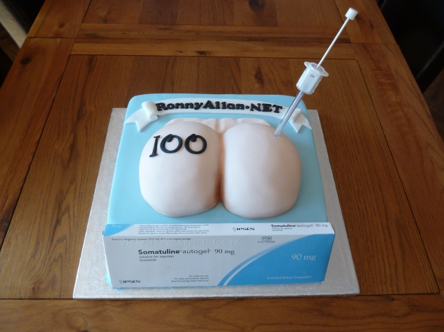 Cake with Needle