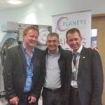Mr Neil Pearce (L), Ronny Allan (C), DSr Brian Stedman (R)
