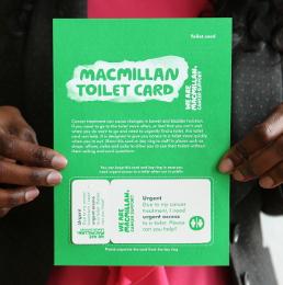 macmillan toilet