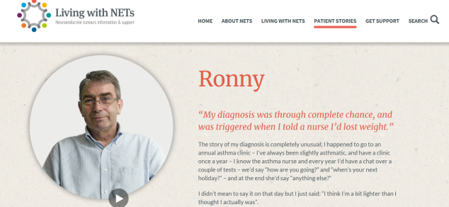livingwithnets ronny story