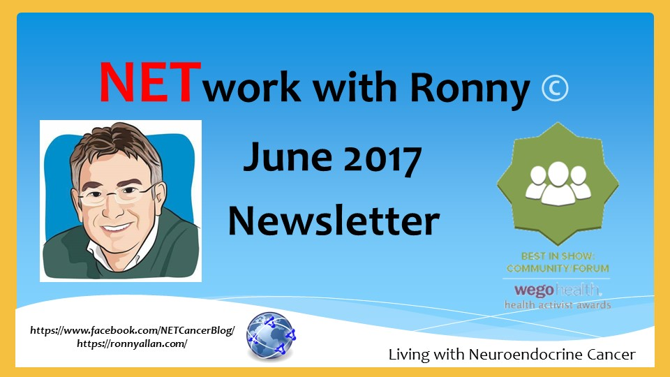 NETwork with Ronny © – Community Newsletter JUNE 2017