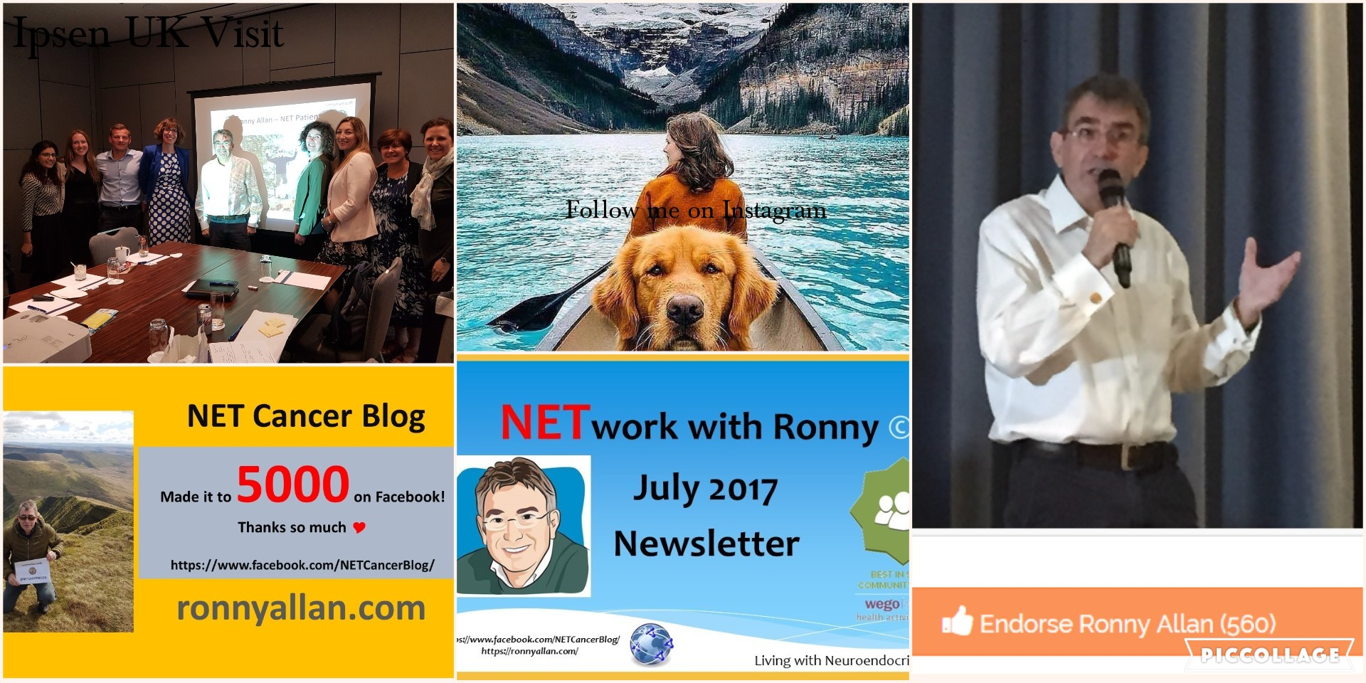 NETwork with Ronny © – Community Newsletter JULY 2017