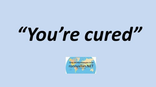 Youre cured